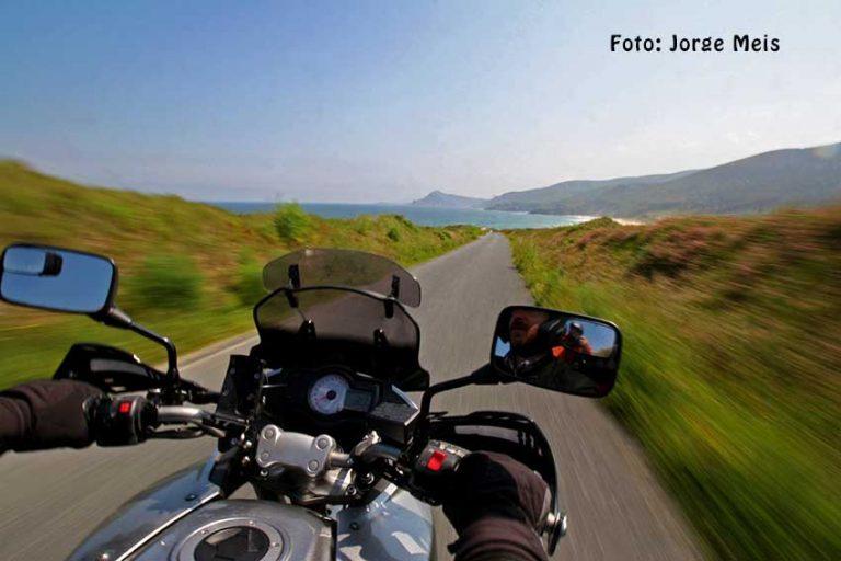 Equipo Fotográfico en Moto