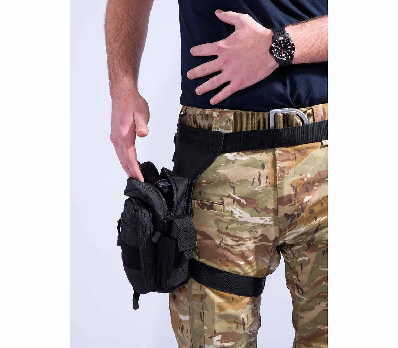 Bolsa de Cintura Pentagon Max-S 2.0 frontal