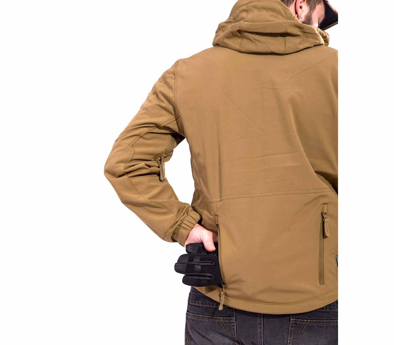 Cazadora Pentagon Artaxes bolsillo espalda