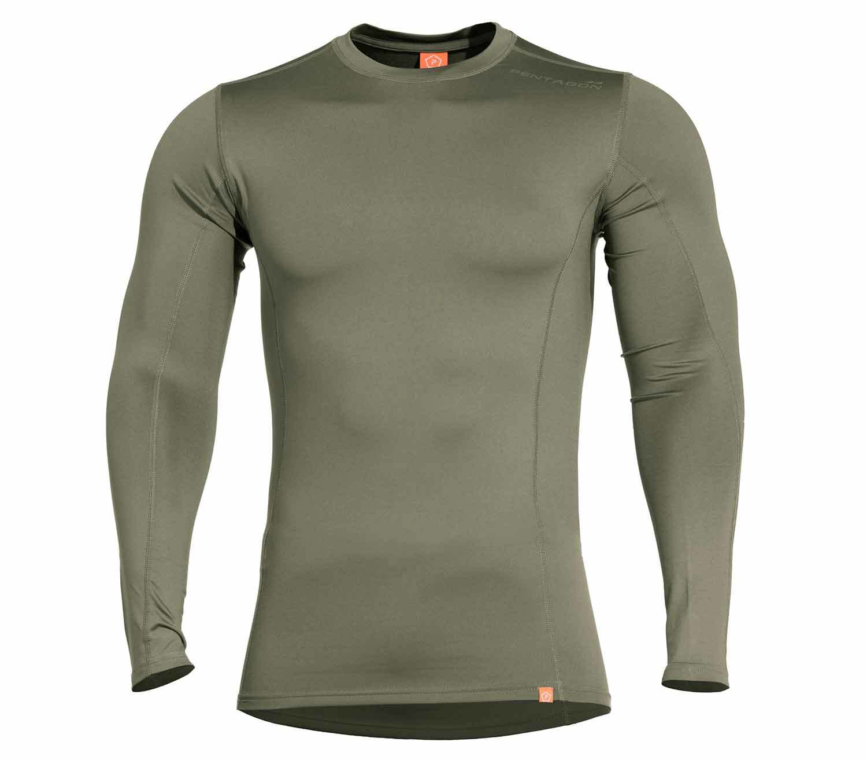 Camiseta Termica Pentagon Pindos 2.0 Oliva