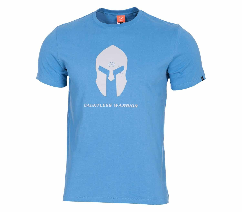 Camiseta Pentagon Spartan Helmet Azul