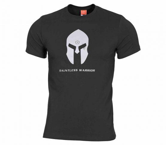 Camiseta Pentagon Spartan Helmet Negro