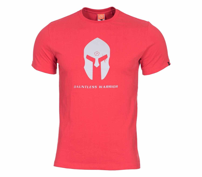 Camiseta Pentagon Spartan Helmet Rojo