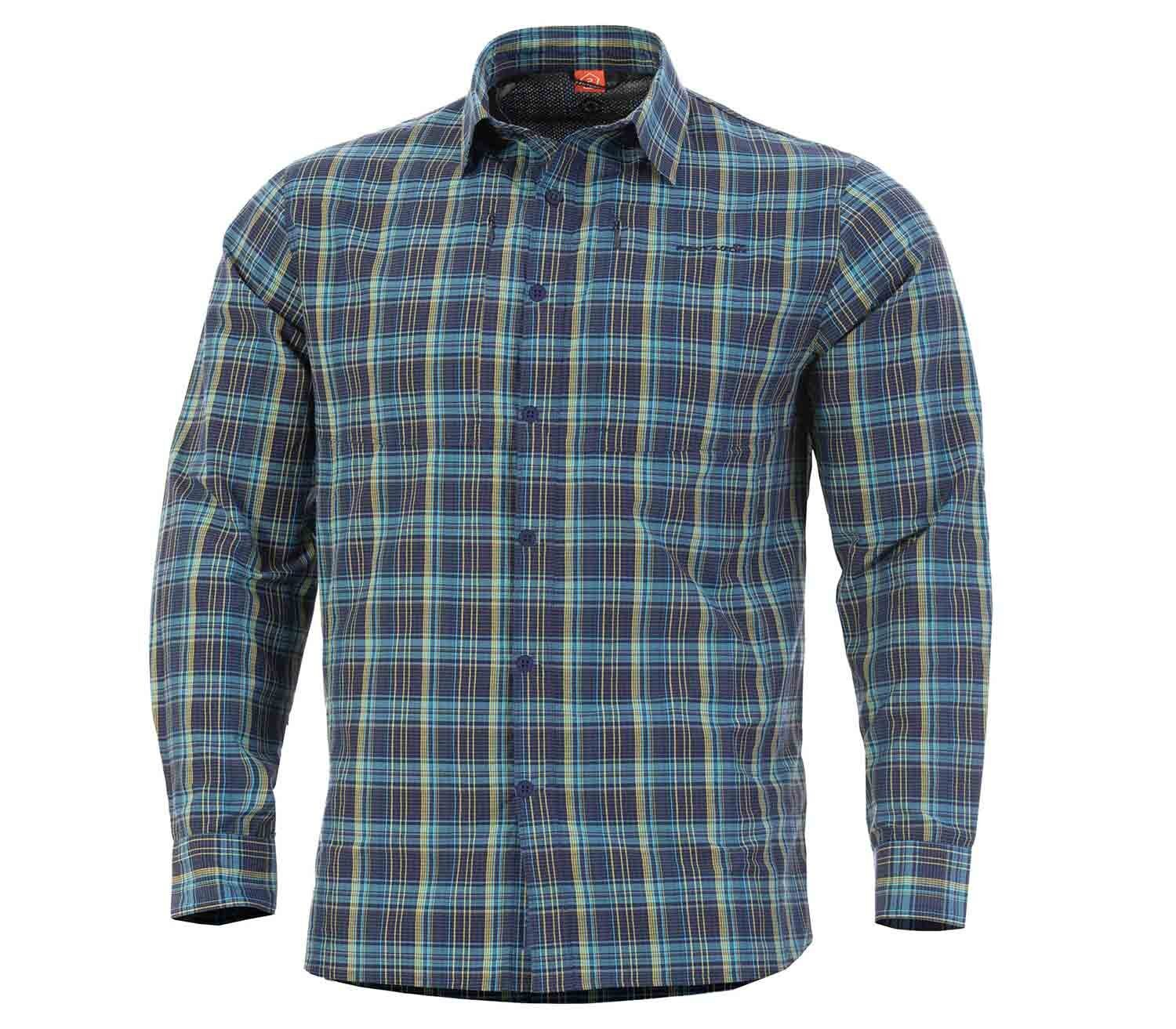 Camisa Pentagon QT Tactical Blue Checks