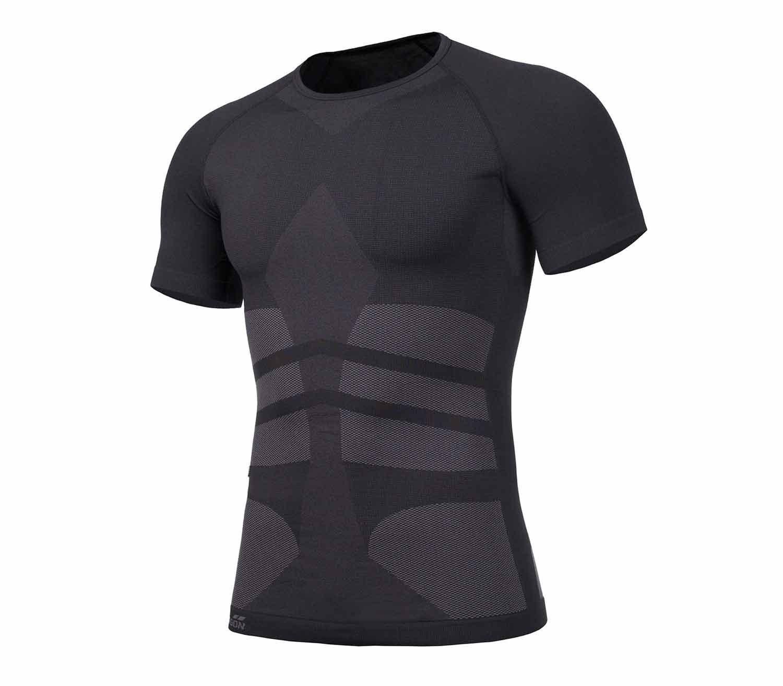 Camiseta Termica Pentagon Plexis Manga Corta Negro