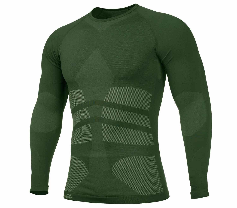 Camiseta Termica Pentagon Plexis Verde Camo
