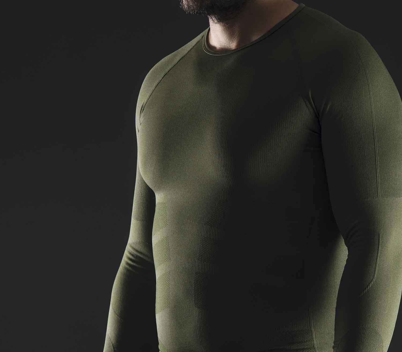 Camiseta Termica Pentagon Plexis detalle