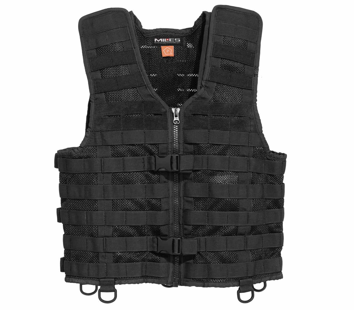 Chaleco Tactico Pentagon Thorax MOLLE Negro