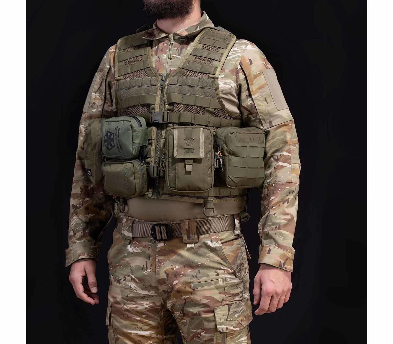 Chaleco Tactico Pentagon Thorax MOLLE carga