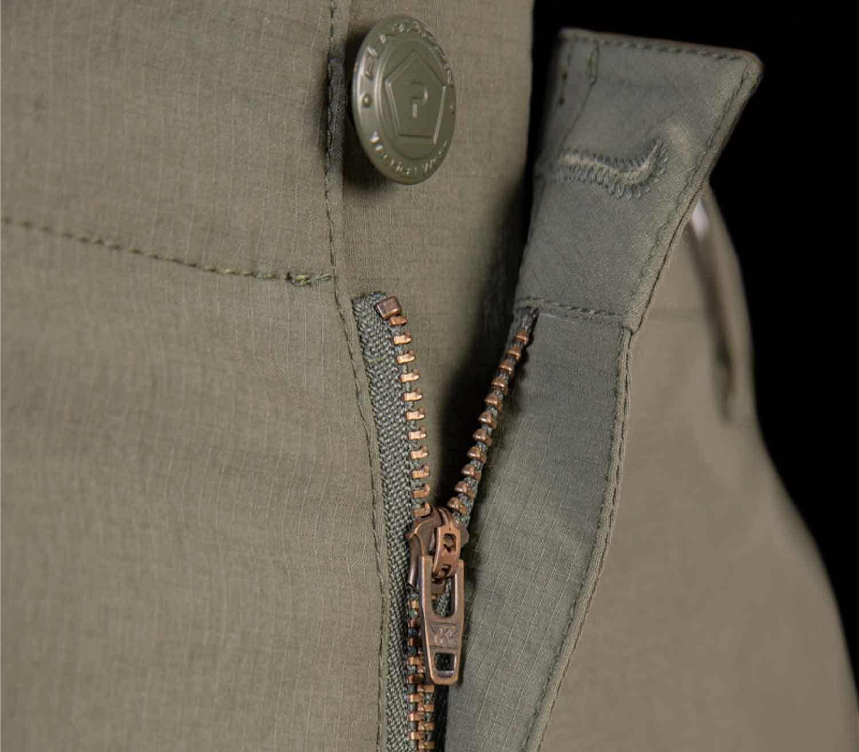 Pantalones Pentagon Gomati Short cremallera y botón