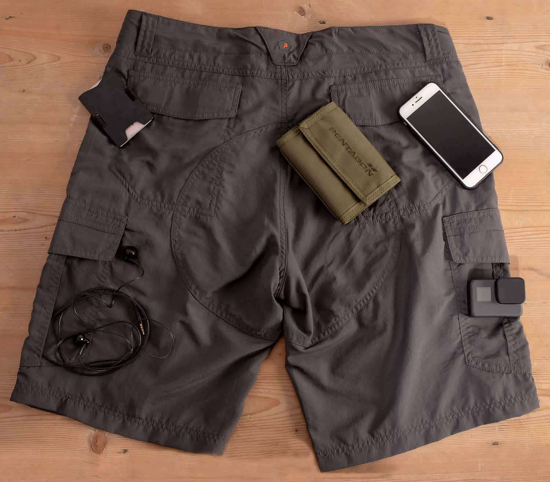 Pantalones Pentagon Gomati Short trasera