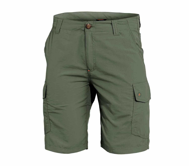 Pantalones Pentagon Gomati Short verde camo