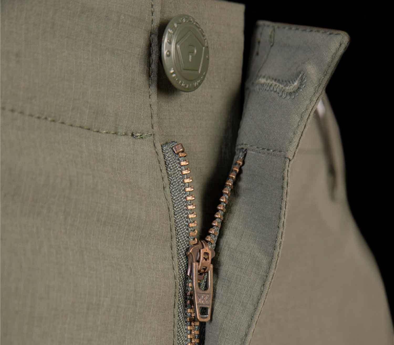 Pantalones Pentagon Gomati botón y cremallera