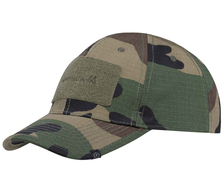 Gorra Pentagon BB Cap 2.0 Camo Woodland
