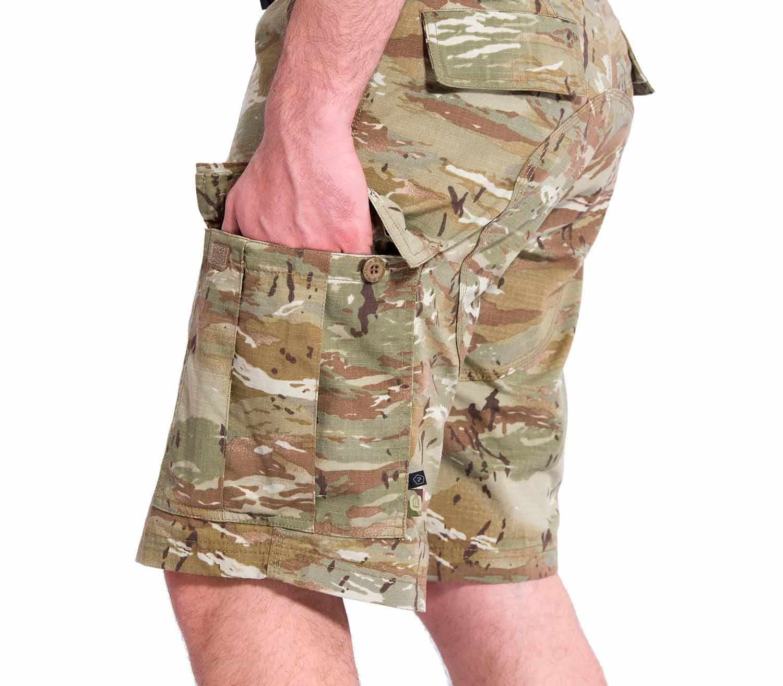 Pantalones Pentagon BDU 2.0 Short Camo bolsillo cargo