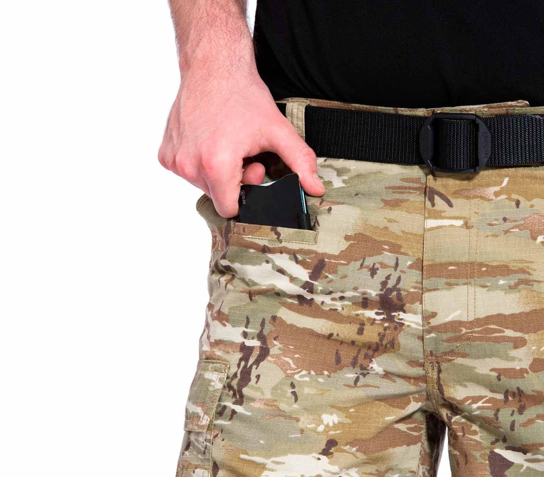 Pantalones Pentagon BDU 2.0 Short Camo bolsillo frontal