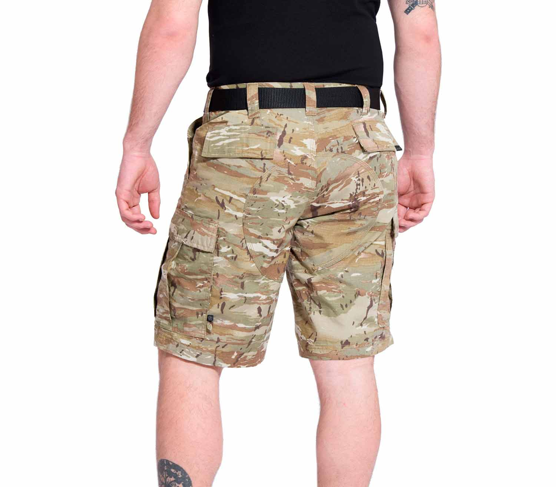 Pantalones Pentagon BDU 2.0 Short Camo trasera