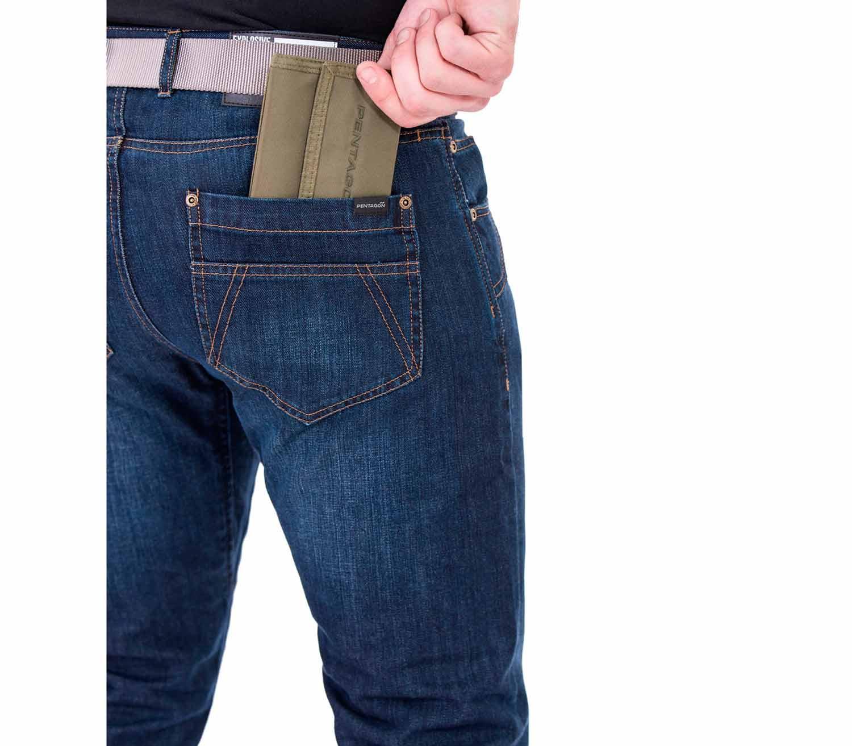 Pantalones Vaqueros Pentagon Rogue bolsillo trasero