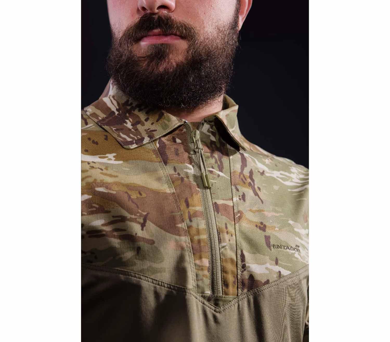 Camisa Tactica Pentagon Ranger cremallera
