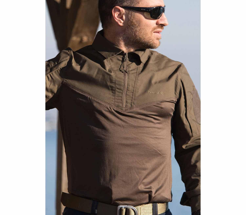 Camisa Tactica Pentagon Ranger exterior frontal