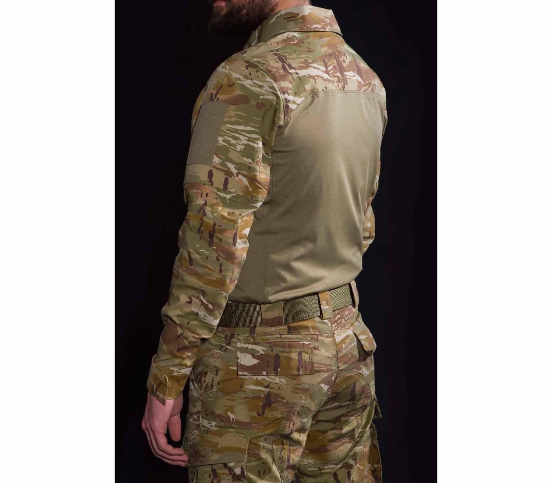Camisa Tactica Pentagon Ranger lateral pentacamo