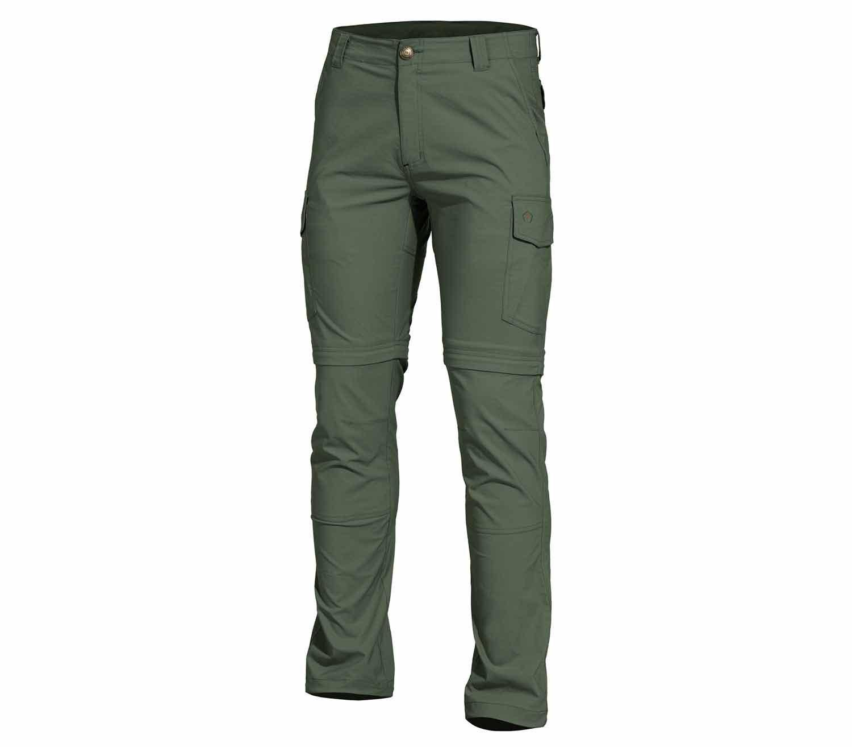 Pantalones Convertibles Pentagon Gomati XTR Verde Camo