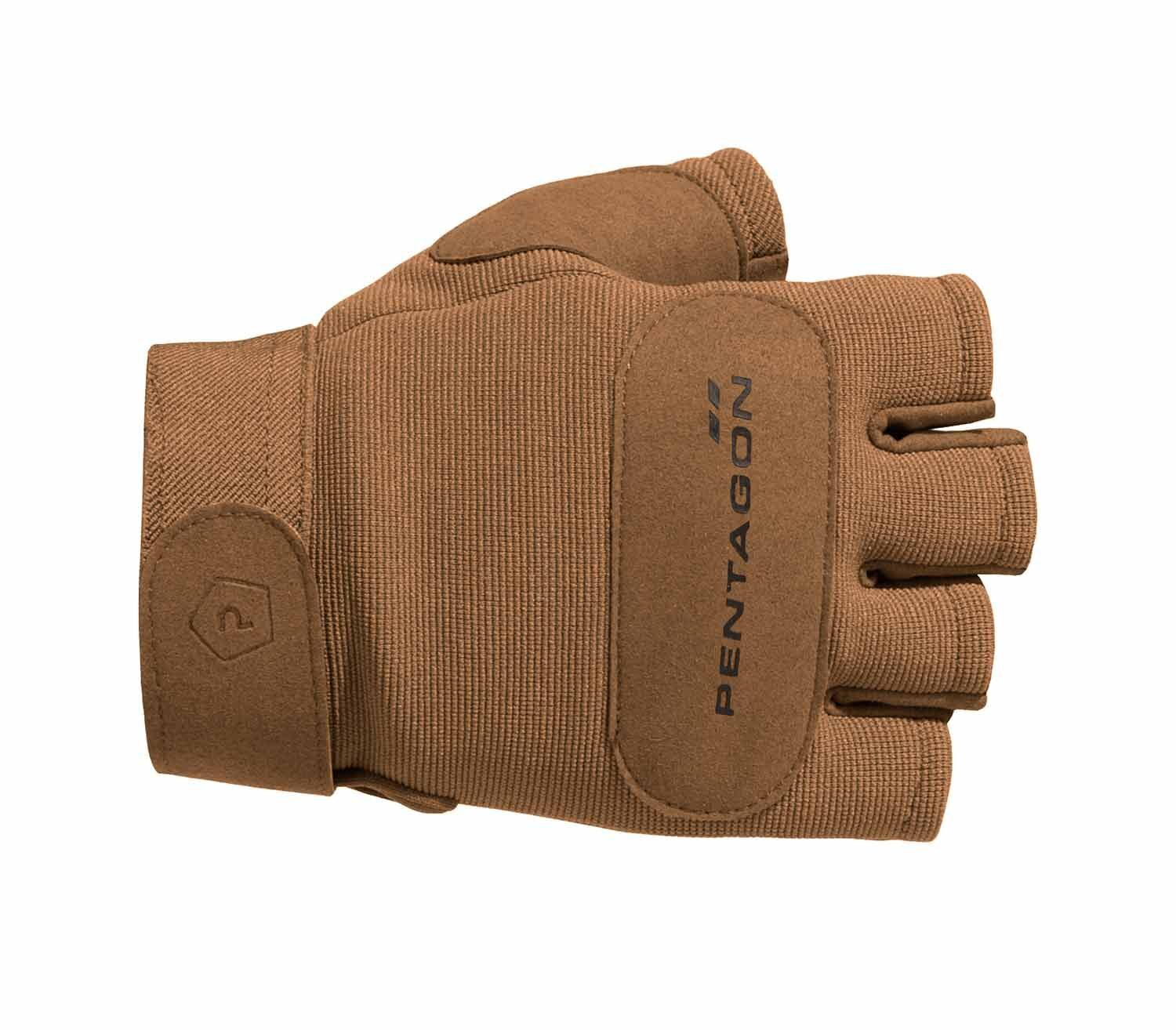 Guantes Pentagon Duty Mechanic Sin Dedos Coyote