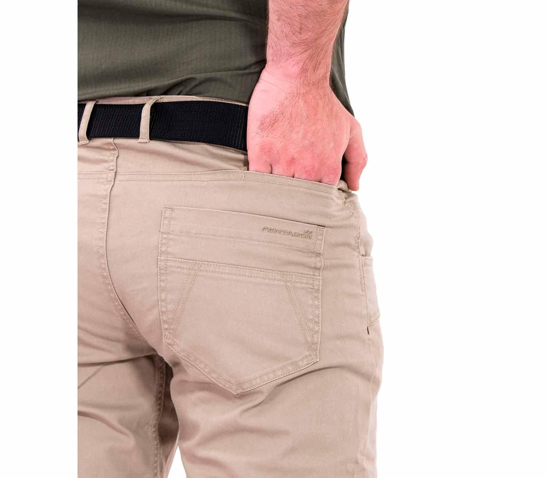 Pantalones Pentagon Rogue Hero bolsillo trasero