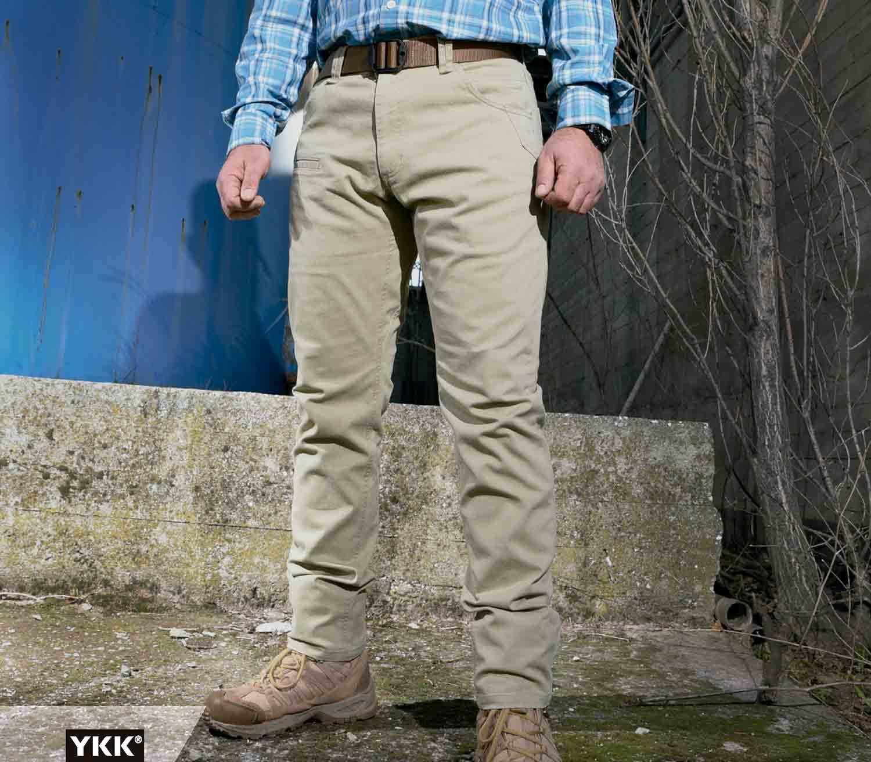 Pantalones Pentagon Rogue Hero exterior caqui