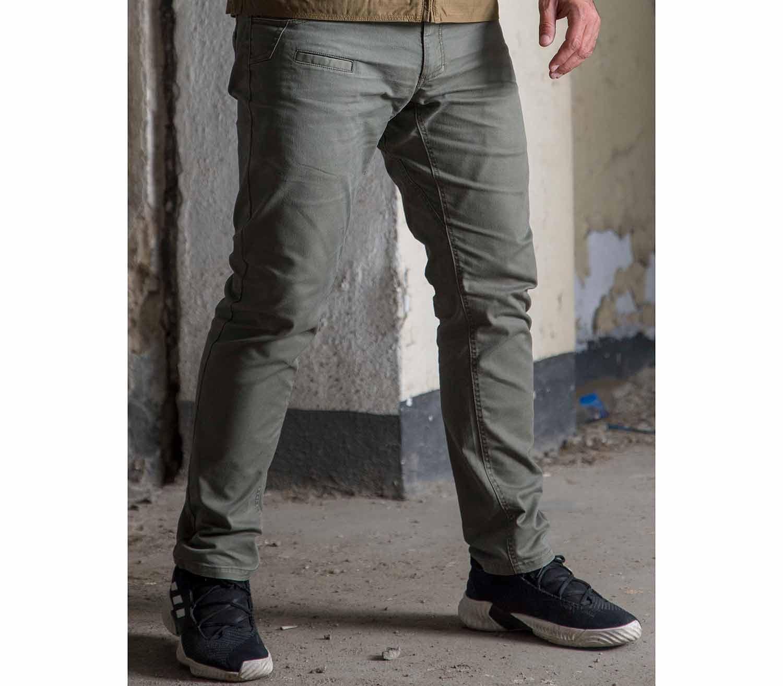 Pantalones Pentagon Rogue Hero gris exterior