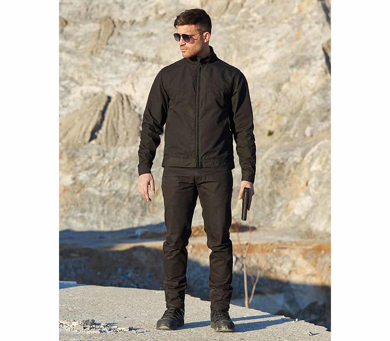 Pantalones Pentagon Rogue Hero negro exterior