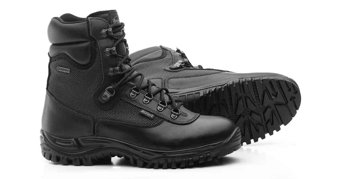 Botas y Zapatos Policiales para el Invierno