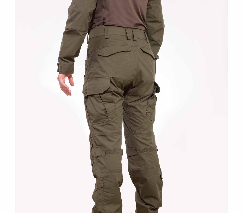 Pantalones Tacticos Pentagon Wolf trasera
