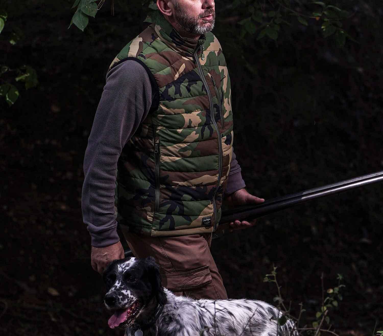 Chaleco Pentagon Arcadian Camo caza