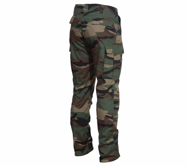 Pantalones Pentagon BDU 2.0 Camo Wood tras