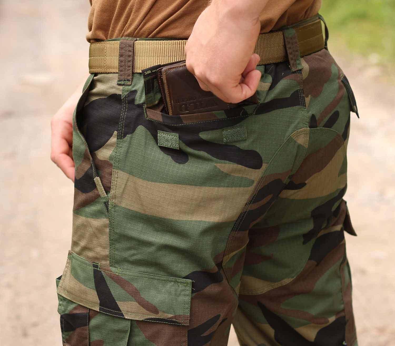 Pantalones Pentagon BDU 2.0 Camo bolsillo tras