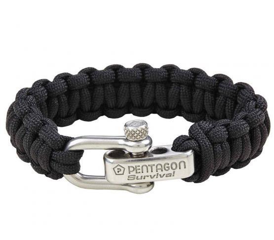 Pulsera ParaCord Pentagon Survival