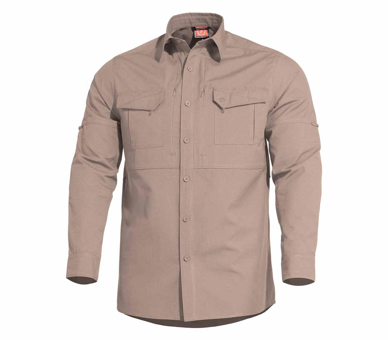 Camisa Pentagon Plato Caqui
