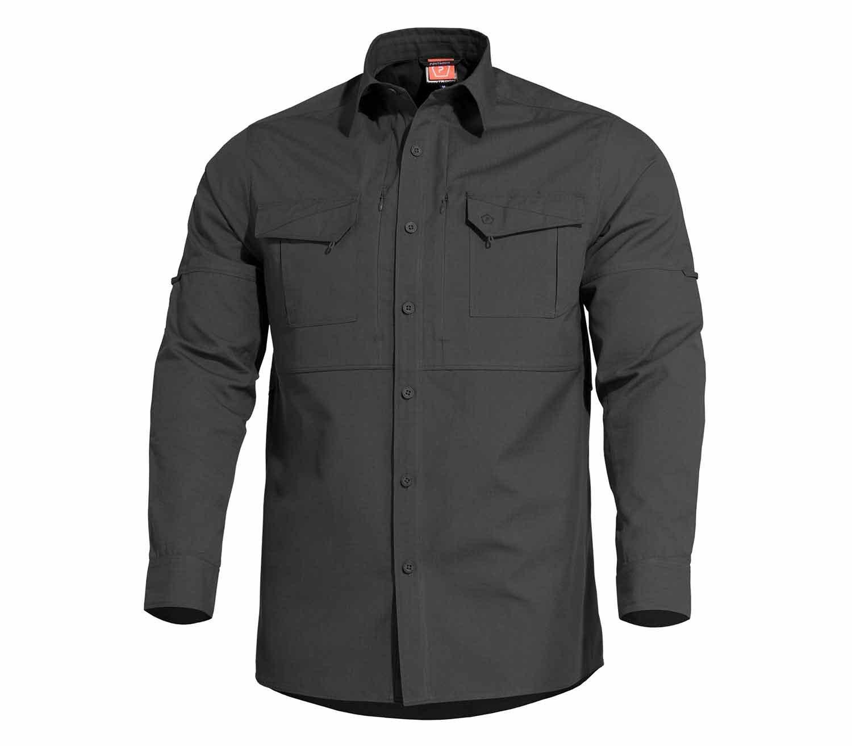 Camisa Pentagon Plato Negro