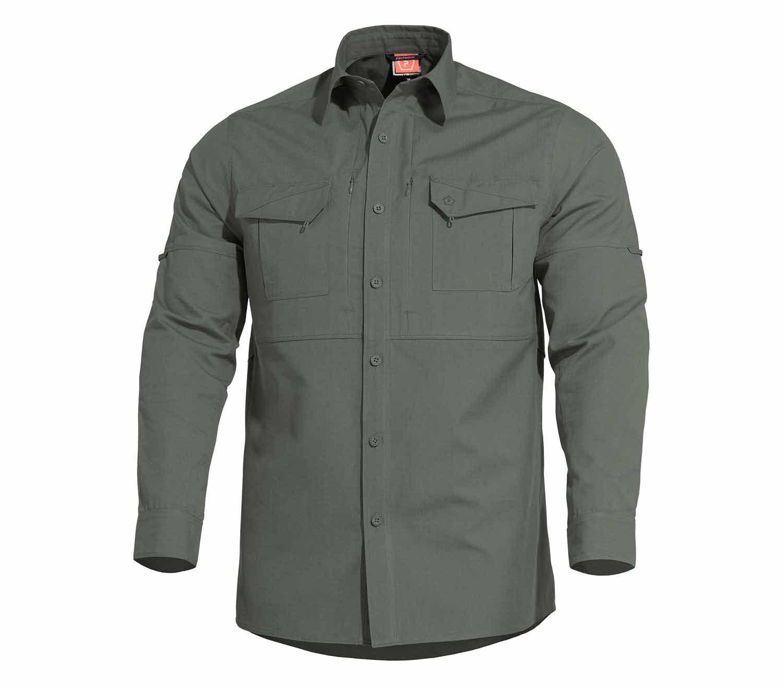 Camisa Pentagon Plato Verde Camo