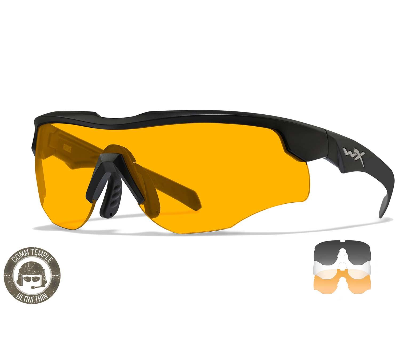 Gafas Wiley X Rogue COMM Black Rust