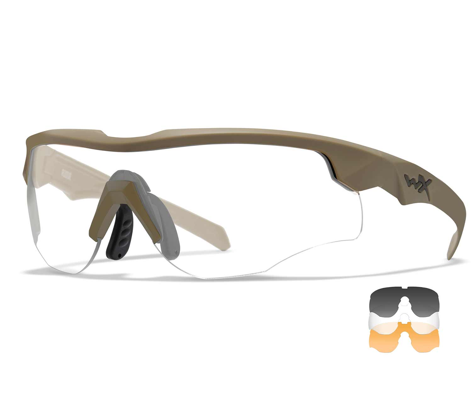 Gafas Wiley X Rogue COMM Bronze Clear