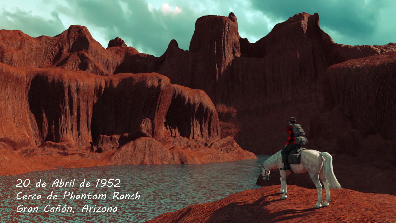Cerca de Phantom Ranch - Gran Cañón. Capítulo 2