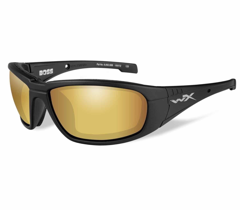 Gafas Wiley X Boss Polarizadas Negro Mate