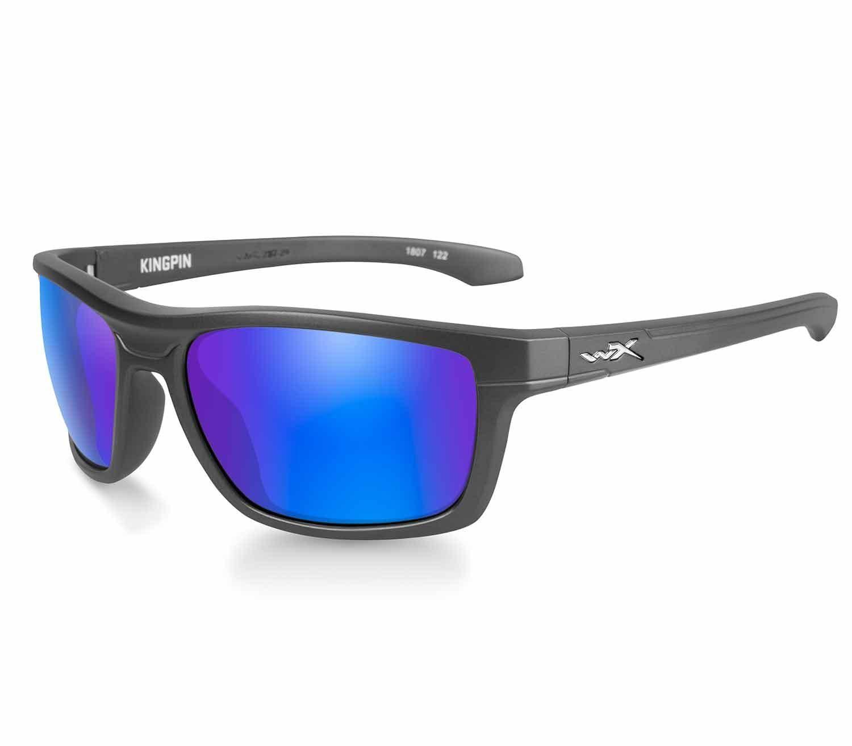 Gafas Wiley X Kingpin Polarizadas Blue Mirror