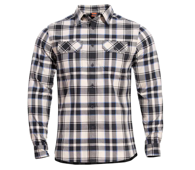 Camisa de Cuadros Pentagon Drifter White Checks