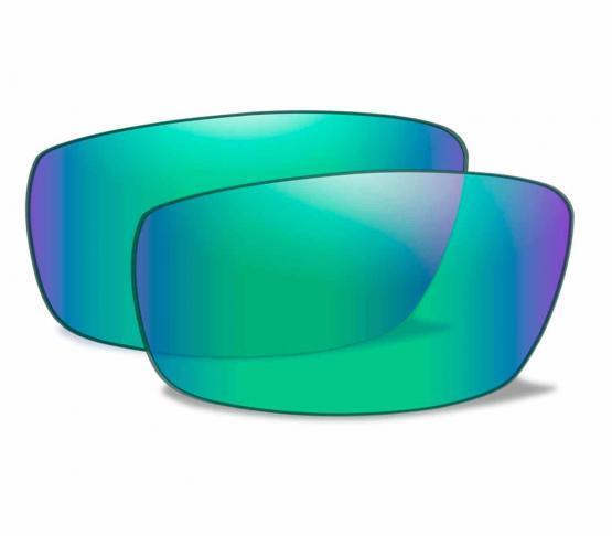Lentes Emerald Mirror Polarizadas para WX Compass