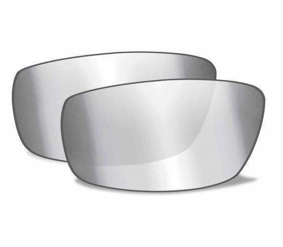 Lentes Silver Flash Smoke Grey para WX Vallus