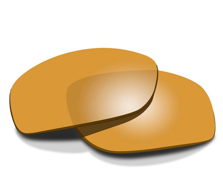 Lentes Amber Gold Mirror Polarizadas para WX Kingpin