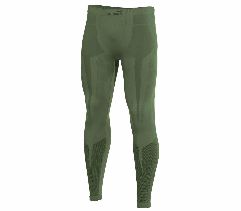 Pantalones Termicos Pentagon Plexis Verde Camo